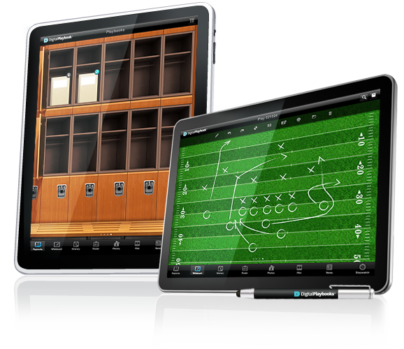 Image of Digital Playbook Whiteboard for Sports Teams, NFL, NBA, MLB, NHL