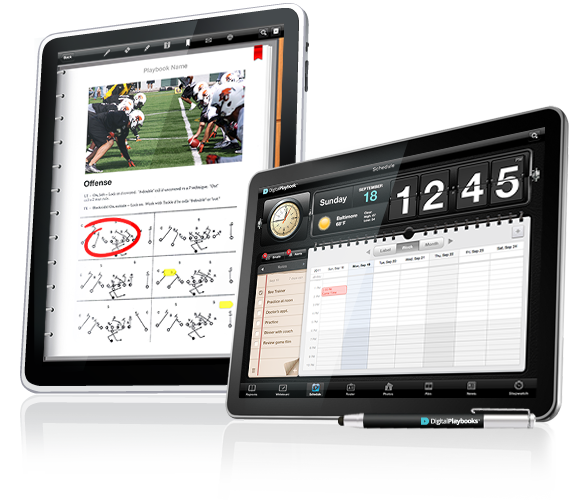 Image of Digital Playbook Playbook Reader and Calendar Schedule