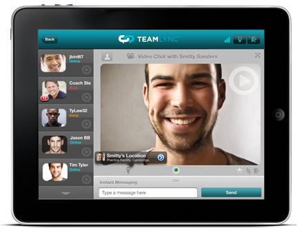 TeamLync's App and Video Chat